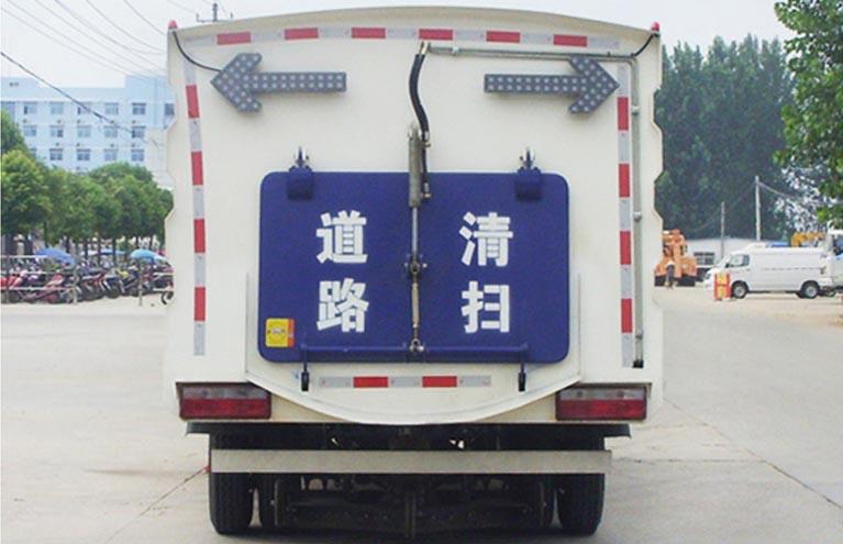 东风多利卡2.5方水4.5方尘扫路车图片5