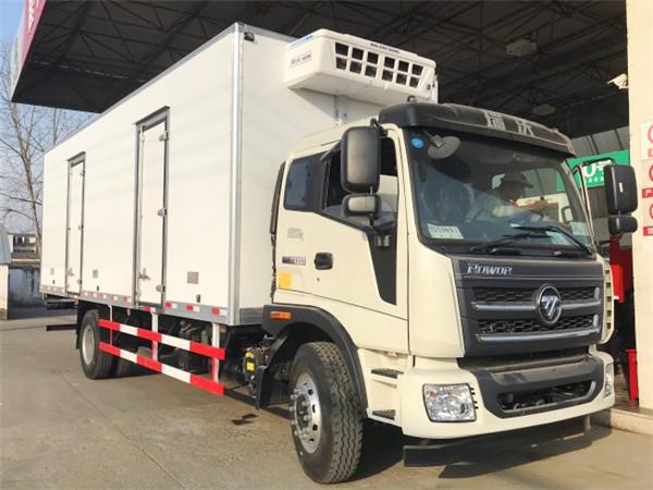 福田瑞沃冷藏车(厢长7.6米)图片1