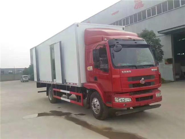 柳汽乘龙冷藏车(厢长6.8米)图片4