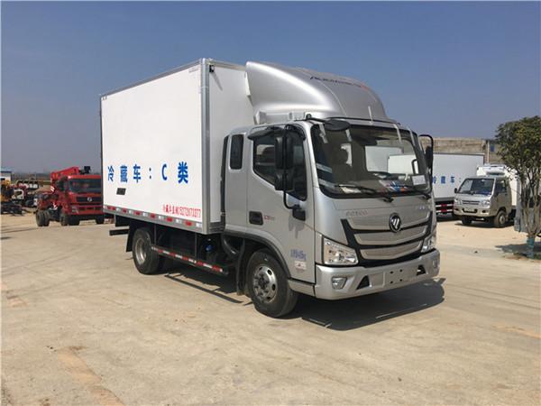 福田欧马可S3排半冷藏车(厢长3.7米)