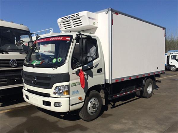 福田欧马可冷藏车(厢长4.2米)图片1