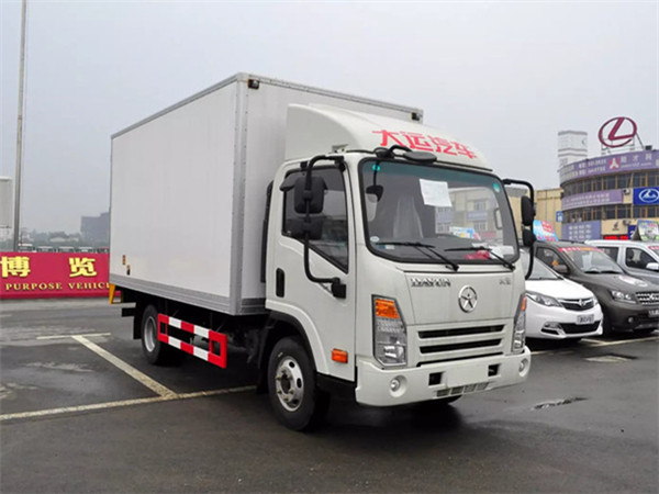 大运奥普力冷藏车(厢长4.2米)图片1