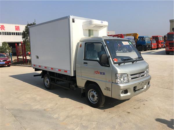 福田驭菱单轮小型冷藏车(厢长2.6米)
