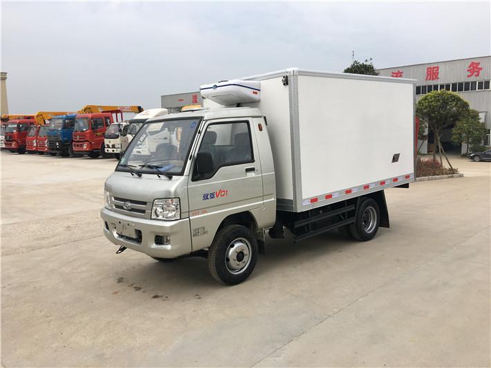 福田驭菱后双轮小型冷藏车(厢长2.9米)