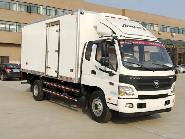 福田欧马可排半冷藏车(厢长5.1米)