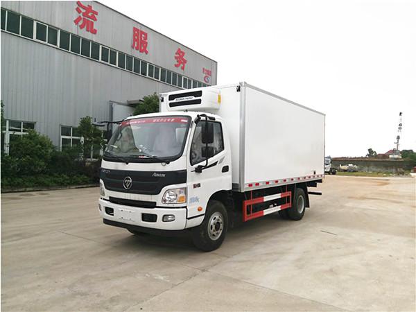 福田欧马可单排冷藏车(厢长5.1米)