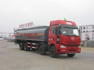 29.3方戊烷解放前四后八易燃液体罐式运输车