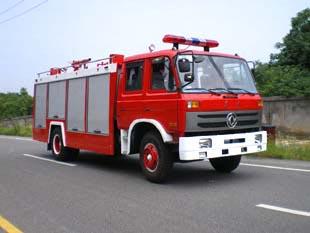 东风153水罐泡沫消防车