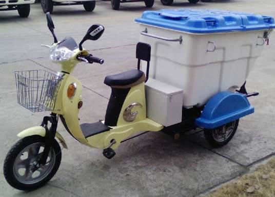 电动三轮垃圾车(电动三轮保洁车)