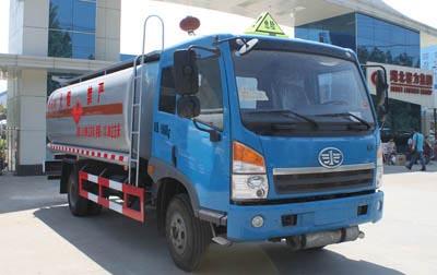 13.38方戊烷解放单桥易燃液体罐式运输车