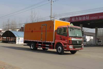 6.1米厢长欧曼爆破器材运输车