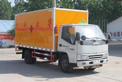4.2米厢长江铃爆破器材运输车
