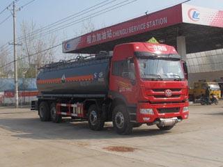 20.8方氨水解放前四后六腐蚀性物品罐式运输车