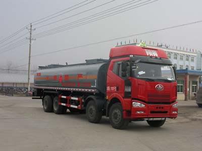 27.8方戊烷解放前四后八易燃液体罐式运输车