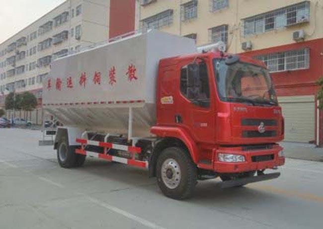 20立方(10吨)电动柳汽散装饲料车