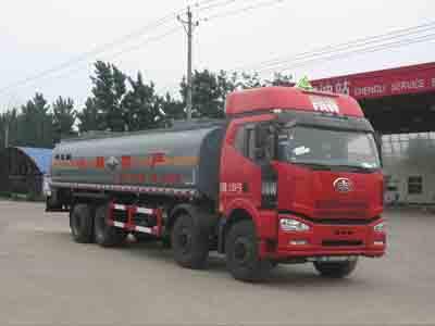 18.2方稀盐酸解放前四后八腐蚀性物品罐式运输车