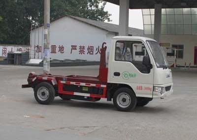 江淮车厢可卸式纯电动垃圾车