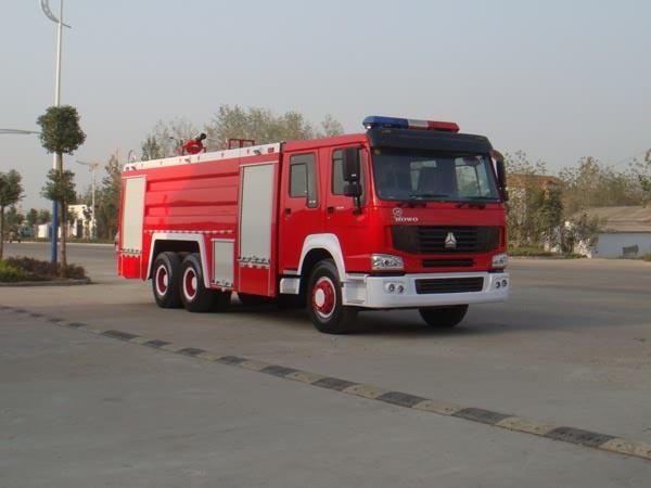 JDF5280GXFSG120Z型水罐消防车