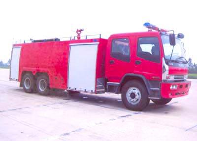 庆铃后双桥12吨水罐泡沫消防车