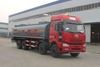 19方亚硫酸解放前四后八腐蚀性物品罐式运输车