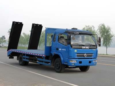 拉8-12吨东风多利卡平板运输车