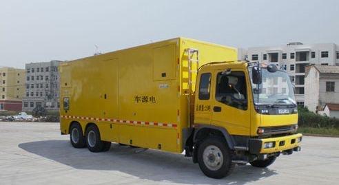 庆铃后双桥400-600KW国四电源车