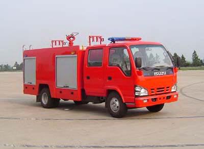 五十铃水罐泡沫消防车3-4吨