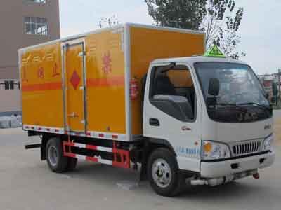 4.12米厢长江淮爆破器材运输车