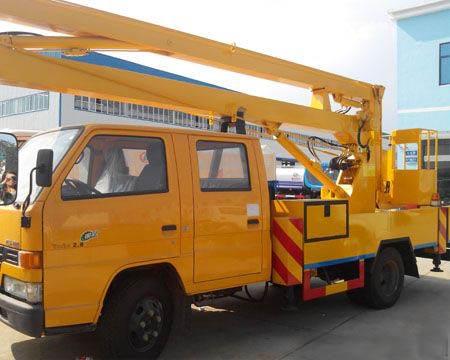 14米国四江铃高空作业车