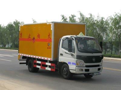 4.15米厢长欧马可爆破器材运输车