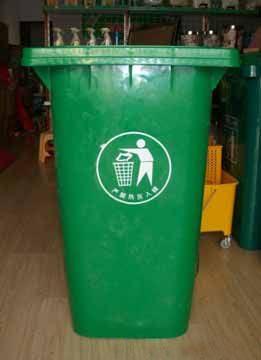 240L 10KG 垃圾桶 垃圾车专用塑料挂桶