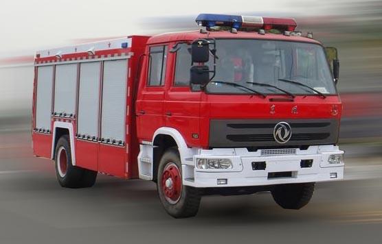 东风牌6吨水罐消防车