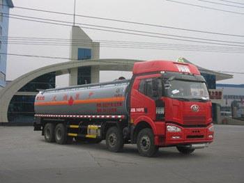 29.2方戊烷解放前四后八易燃液体罐式运输车