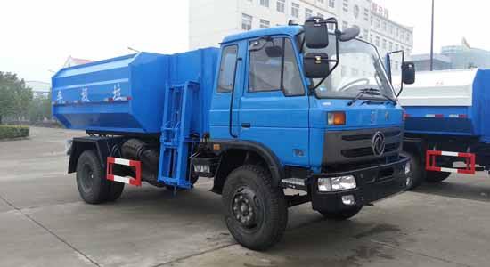 东风145型自装卸式垃圾车