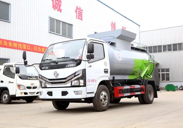 国六东风5方餐厨垃圾车图片2