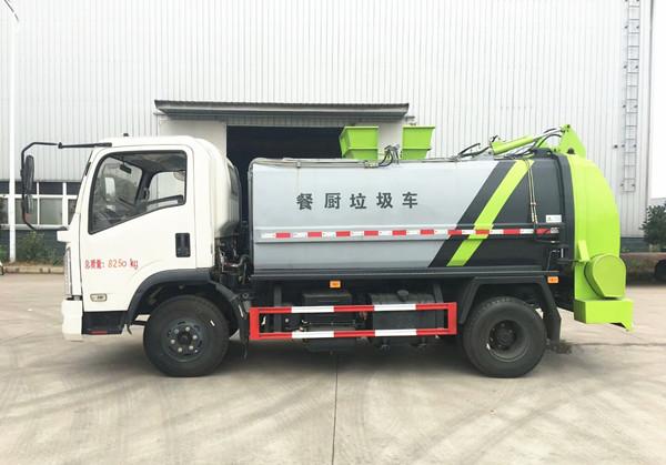 新款东风8方餐厨垃圾车图片4