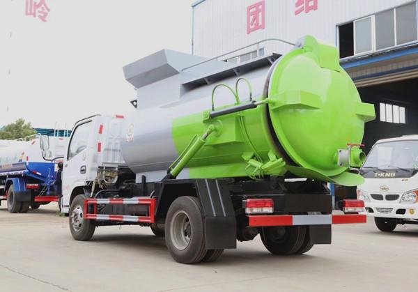 国六东风5方餐厨垃圾车图片5