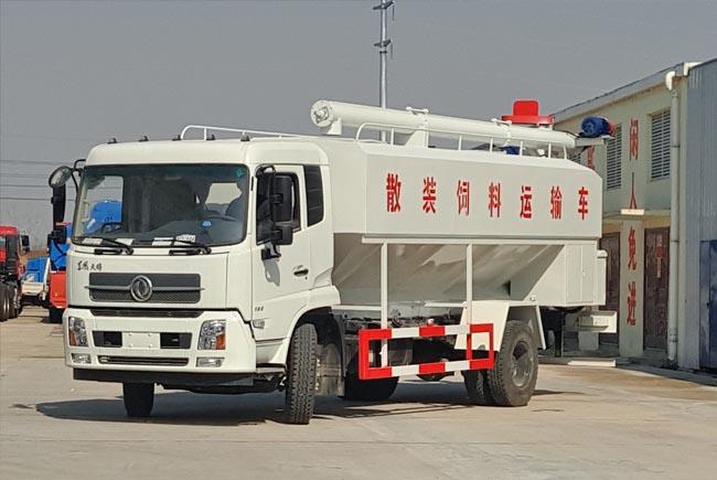 20立方(10吨)电动天锦散装饲料车