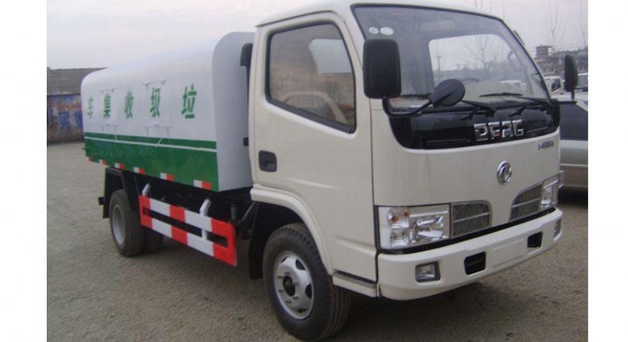 东风福瑞卡自卸式垃圾收集车