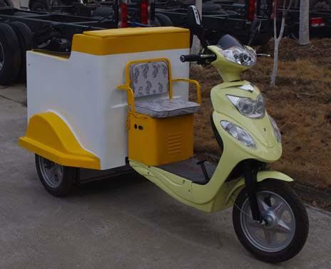 电动垃圾车(装桶电动保洁车)