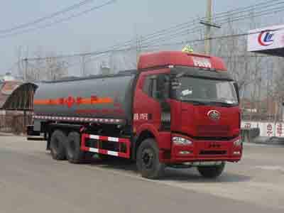 21.7方戊烷解放后双桥易燃液体罐式运输车