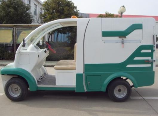 电动垃圾车(小型四轮电动垃圾清运车)