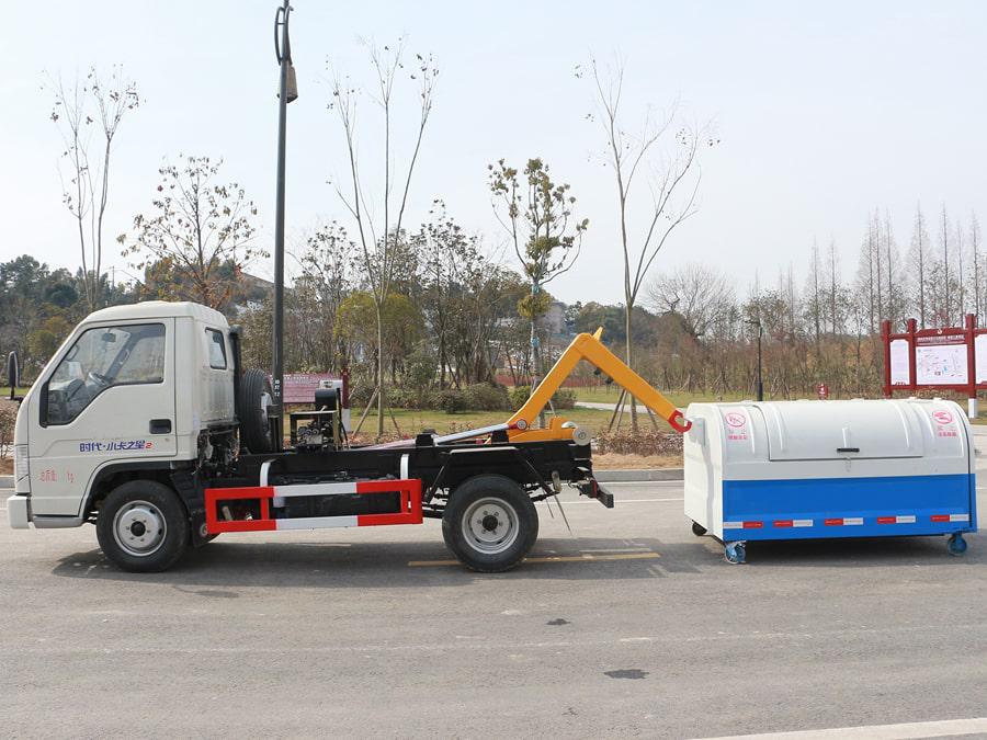 「tianbo」福田4方车厢可卸式垃圾车