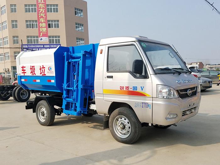 2方凯马自装卸式垃圾车