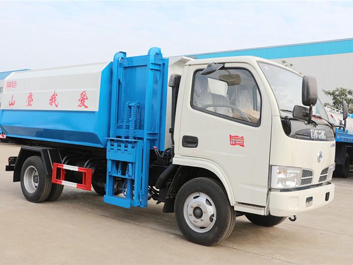 5方东风多利卡自装卸式垃圾车