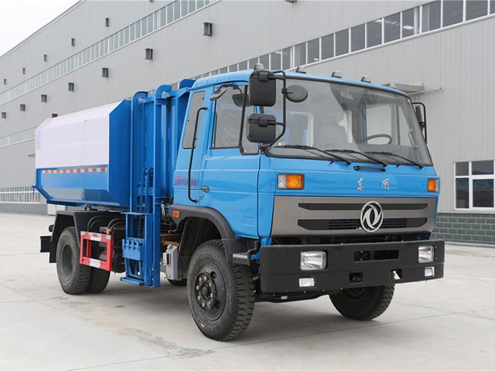 12方东风145自装卸式垃圾车
