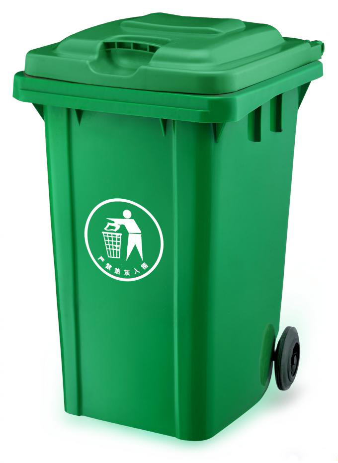 240L 15KG 垃圾桶 垃圾车专用塑料挂桶