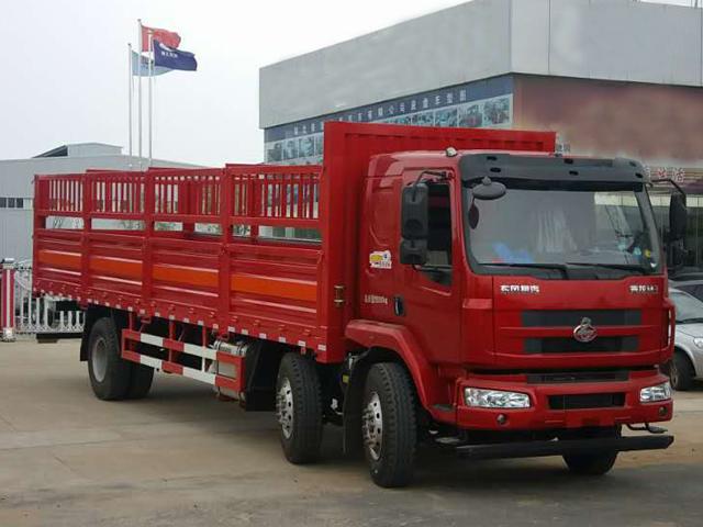 东风柳汽9.6米气瓶运输车