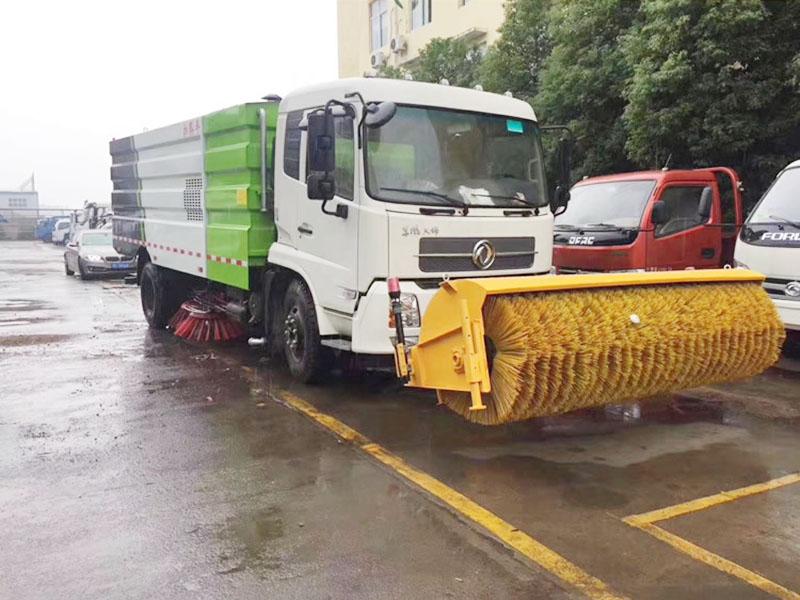 东风天锦扫雪车除雪车图片5
